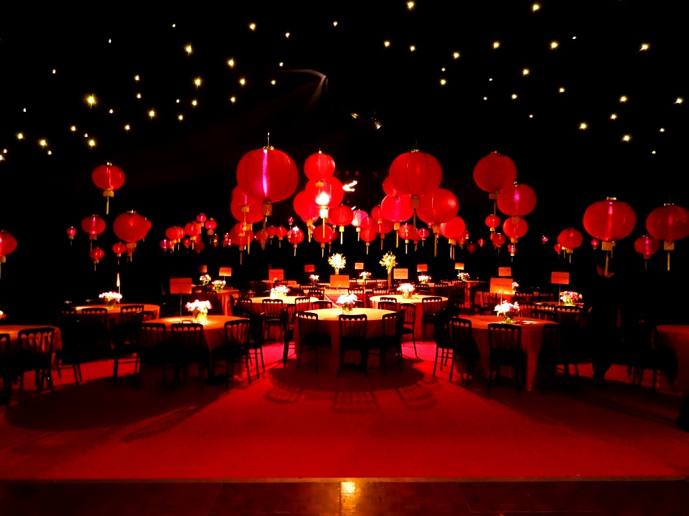 Chinese New Year Themed Wedding - Lex Marquee Hire