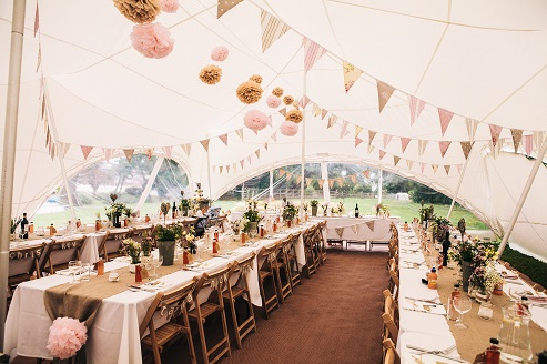 Rustic Wedding Marquee Lex Marquee Hire